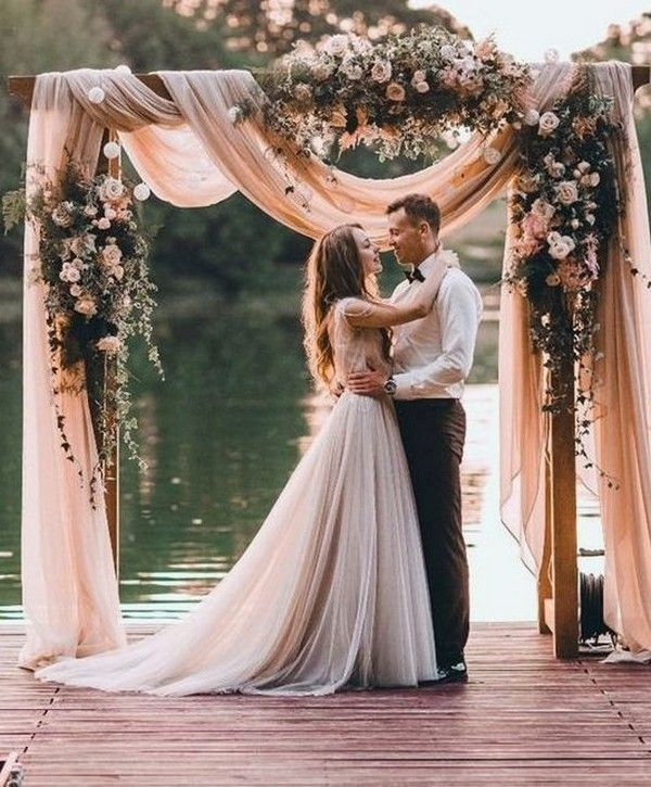 Rustic Wedding Arch Decorations Ideas: Trending-30 Boho Chic Wedding Ideas For 2018