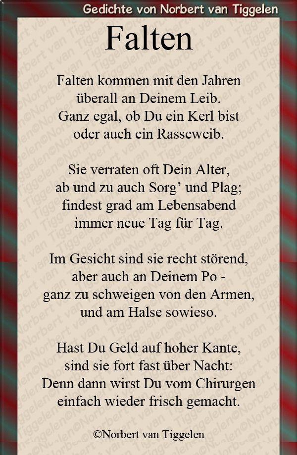 Pin von Viola Schöneck Ehemals Hauf auf Gedichte | Witzige ...