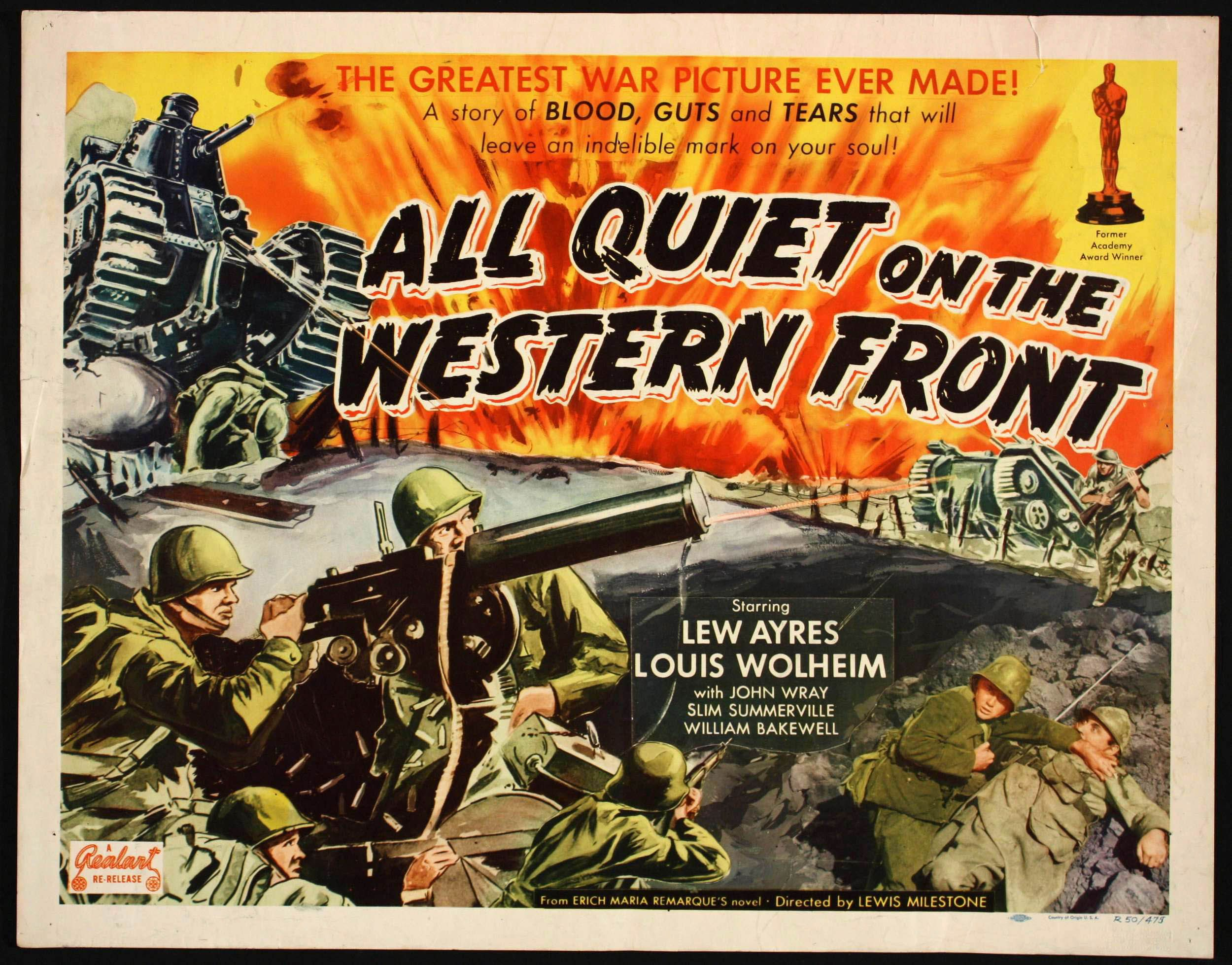 essay on all quiet on the western front movie  essay on all quiet on the western front movie