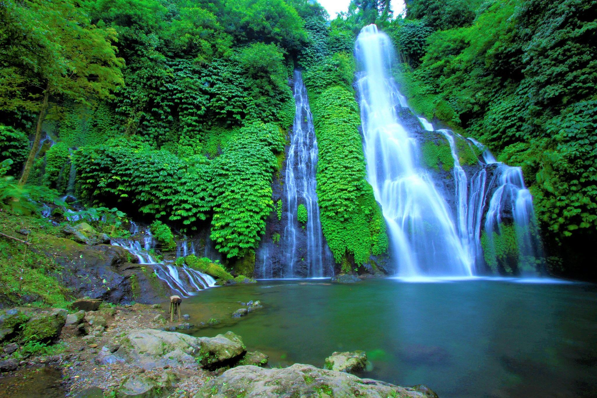 Banyumala Waterfall Bali Indonesia