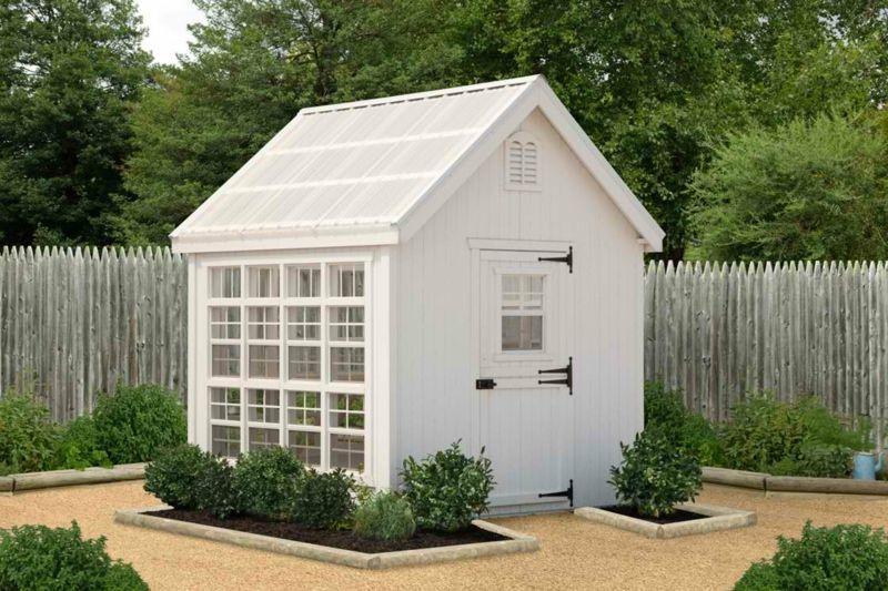 Frisch Gewächshaus für den Garten im romantischen Hüttenstil   Garten  FN45