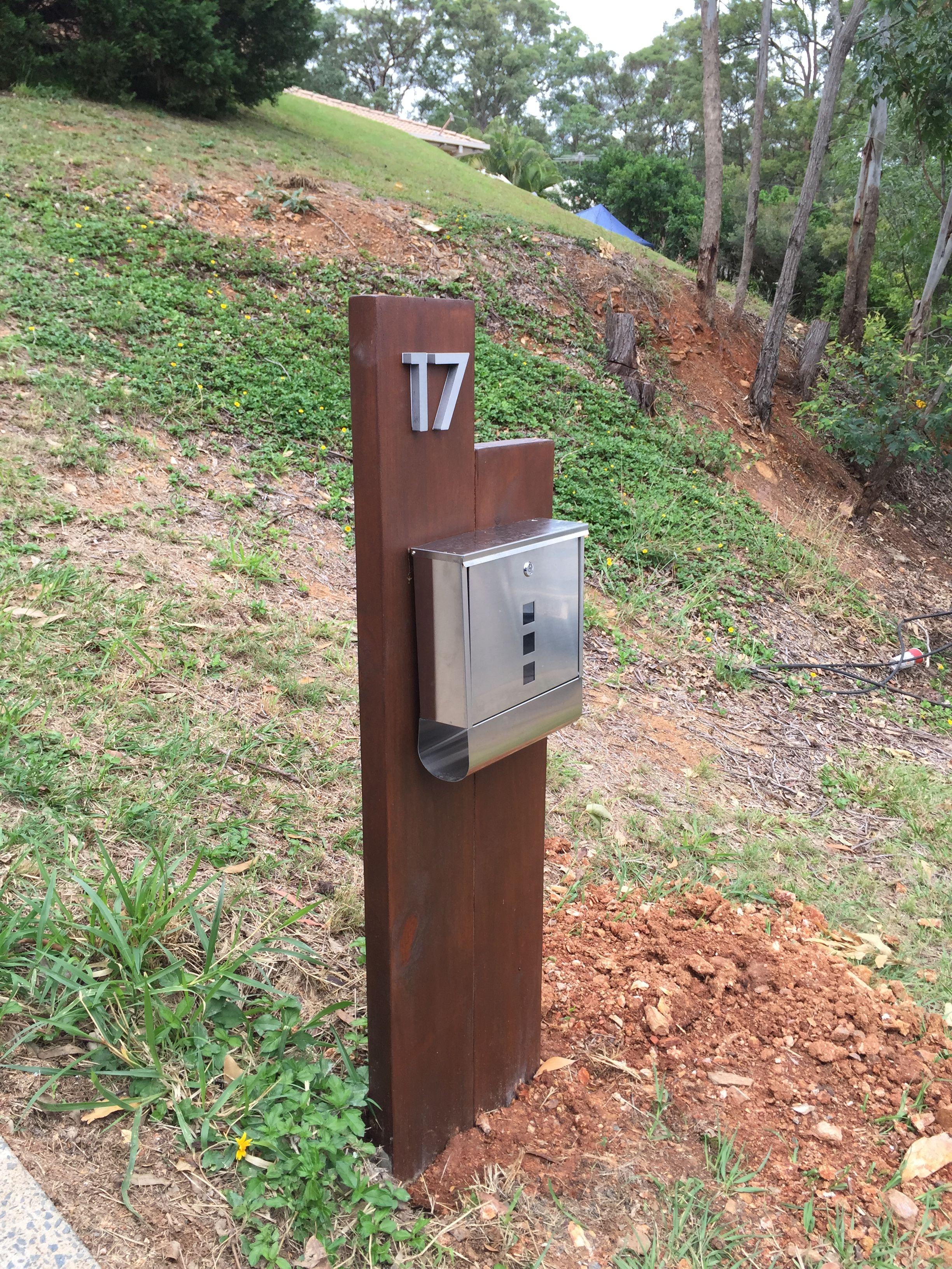 Modern Letter Box Stone Mailbox Modern Mailbox Design Letter Box