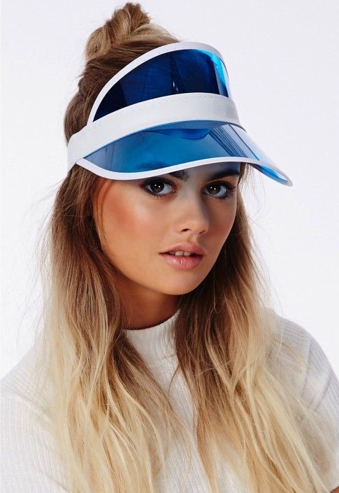 6e79d607db0 visiere-missguided. visiere-missguided Sun Visor Hat ...