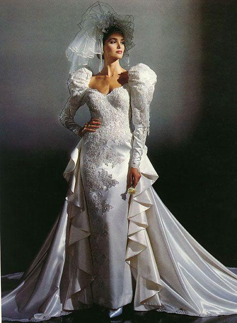 80s wedding dress brides pinterest 80 s wedding dress 80s wedding dress junglespirit Gallery