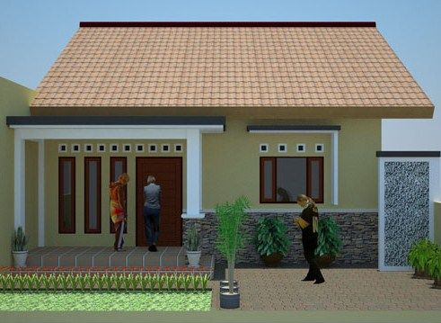 gambar rumah minimalis type 45 sederhana 2019   rumah