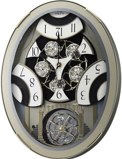 Rhythm Musical Motion Clocks Rhythm Classic Brilliance Musical Small World Motion Clock Model Clocks Rhythm Clocks Clock Home Decor