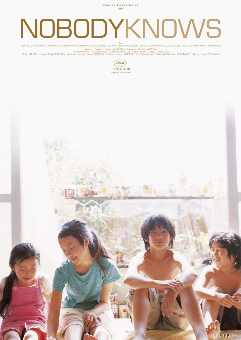 Nobody Knows 2004 Teenage Movie Best Actor Our Little Sister