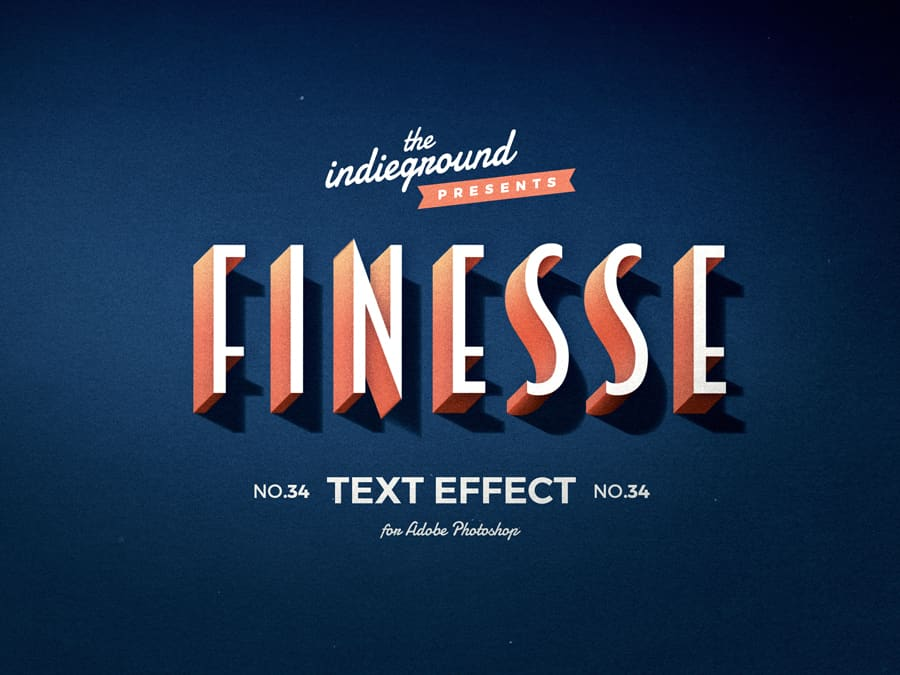 Retro Vintage Text Effect N 34 Indieground Design Retro Text Text Effects Vintage Text