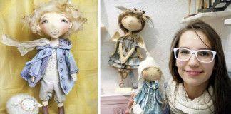 Lyrické a precízne spracované handmade bábiky spod rúk šikovnej Yany