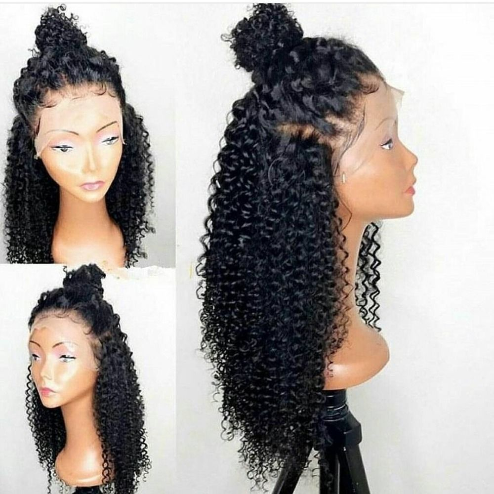 Wet And Wavy Brazilian Human Hair Cheap Lace Front Wig