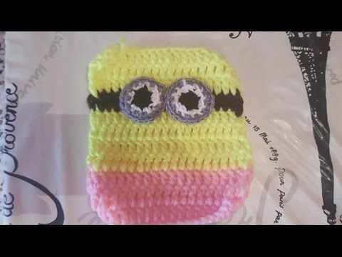 Aplicaciones de chica minions de dos ojos de ganchillo - YouTube ...