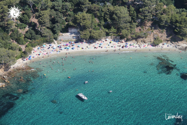 Plage paradisiaque jeanblanc lavandou lelavandou var provence cotedazur mer turquoise - Le lavandou office de tourisme ...