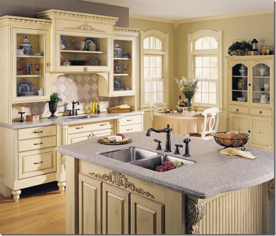 21 Victorian Style Kitchen Design And Ideas: 75+ Amazing Cream Dark Wood Kitchens Ideas