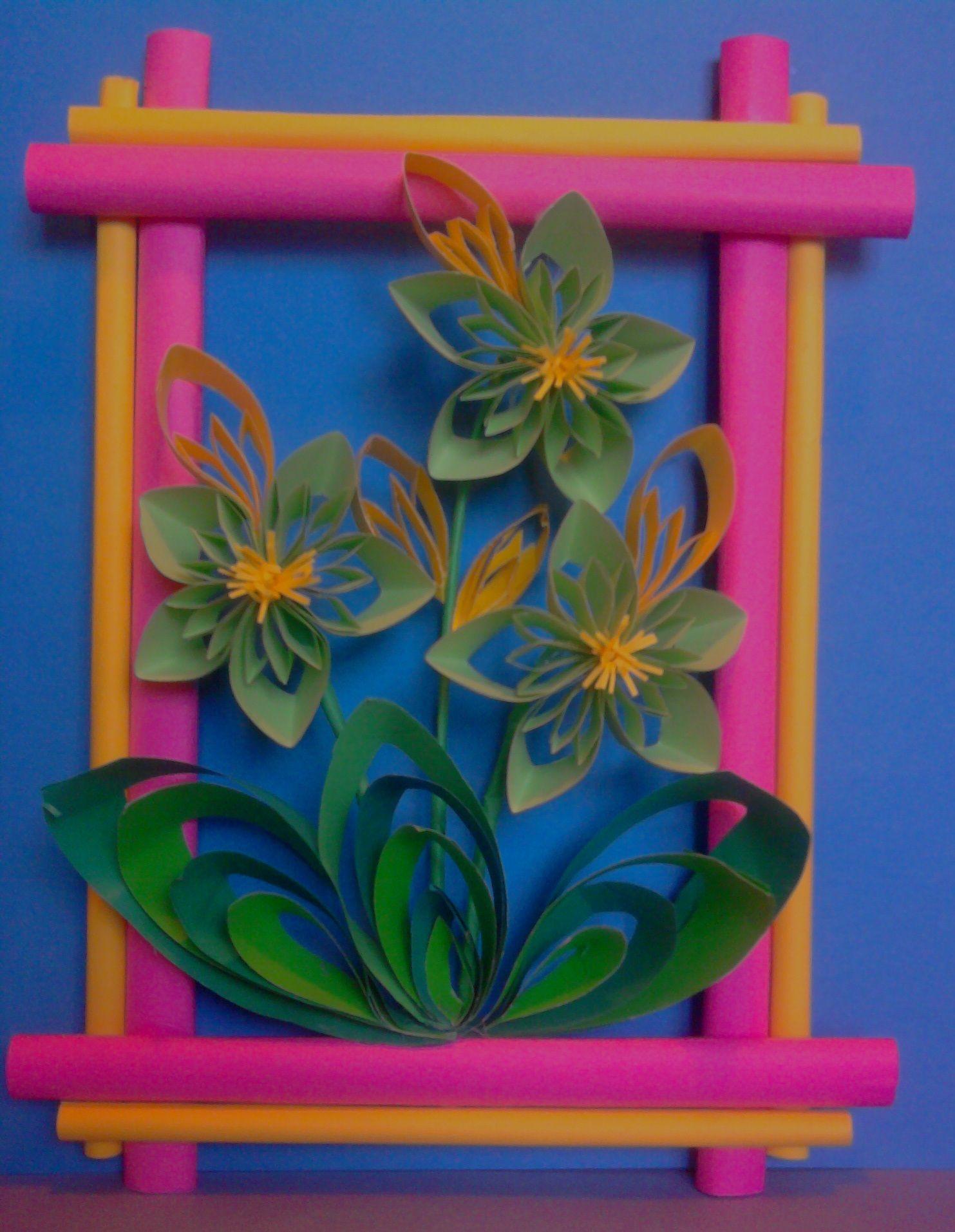 Kwiaty Z Papieru Ikebana Prace Plastyczne Dariusz Zolynski Flowers Paper Paper Flowers Orgiami Kirigami Wycinan Paper Crafts Paper Flowers Paper Art