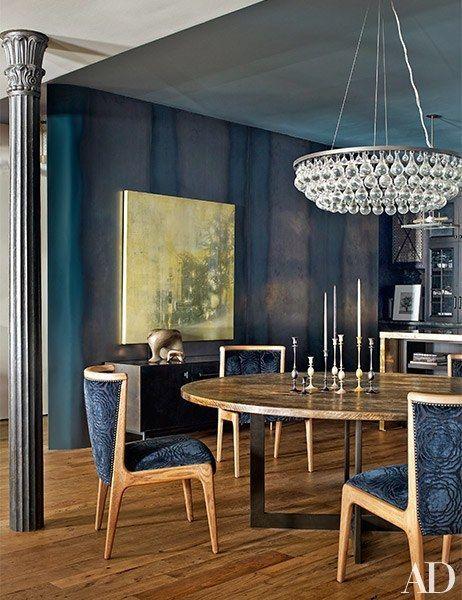 John Legend and Chrissy Tiegen's New York dining room | archdigest.com