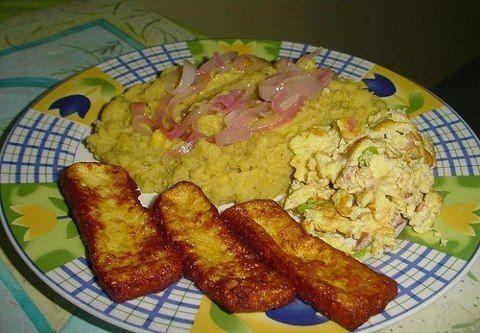 Desayuno Dominicano Comidas Deliciosas Pinterest