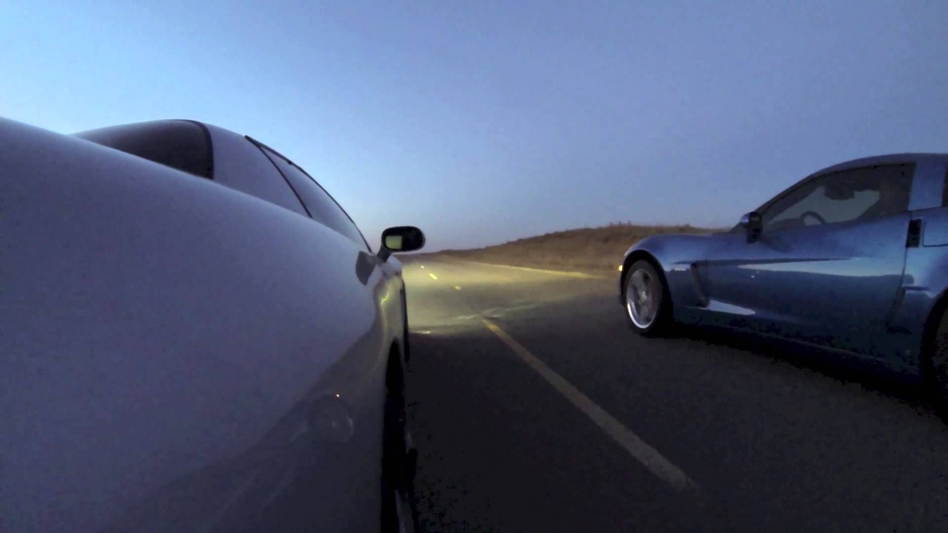 Supercharged C5 Z06 Vs  Cammed C6 Z06   Vetteish - nothing but