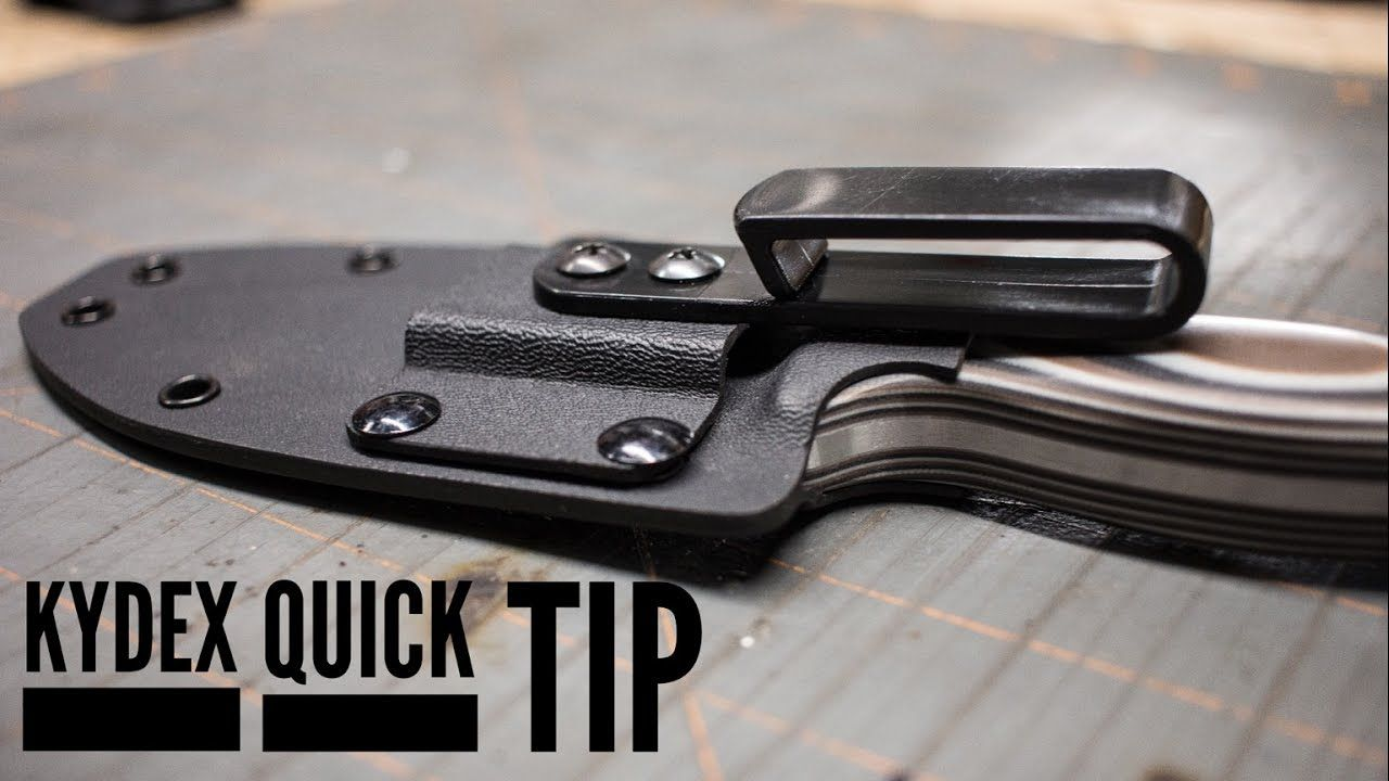 Kydex,custom sheaths design advice holsters and other items