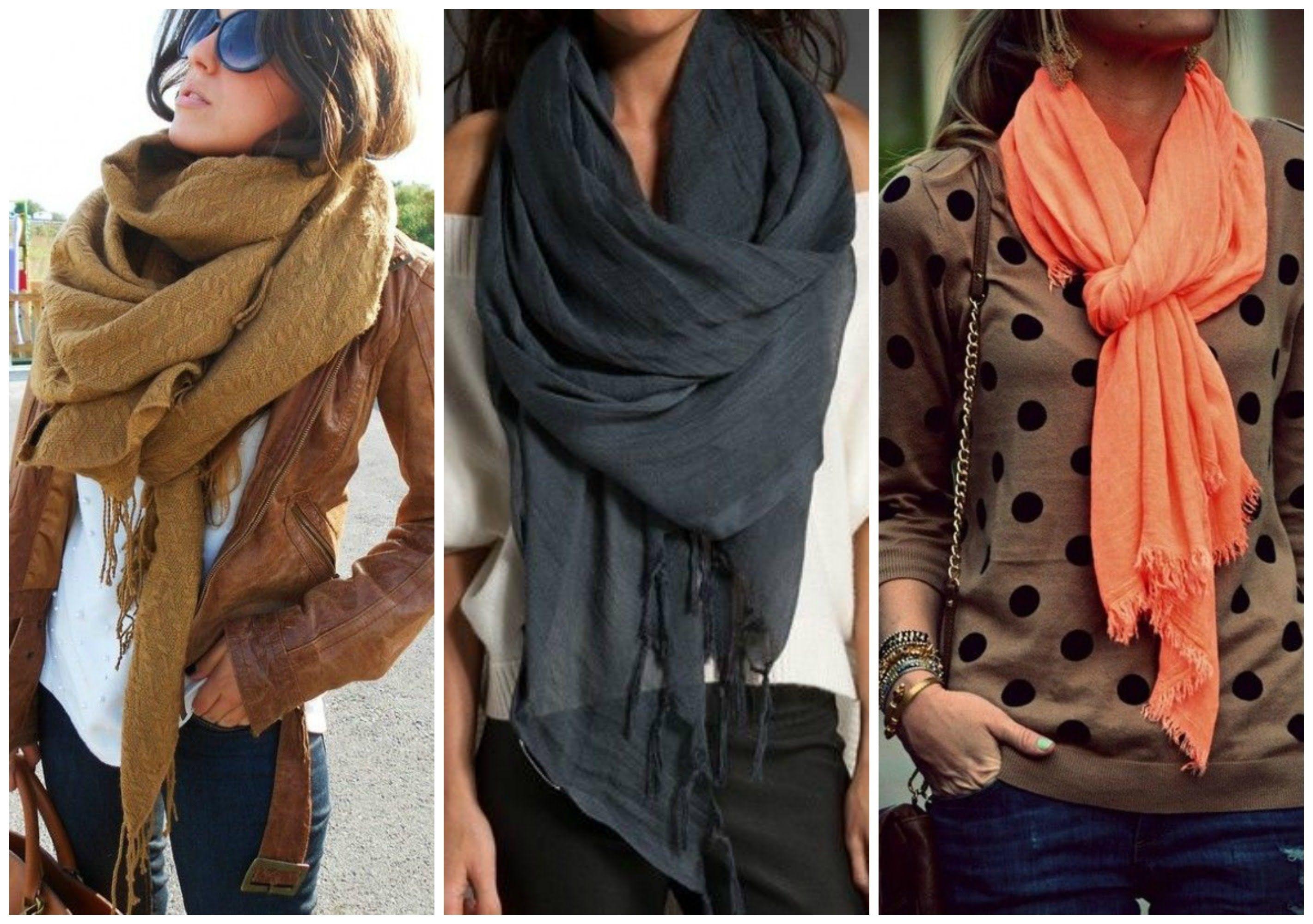 32+ Como ponerse una bufanda trends