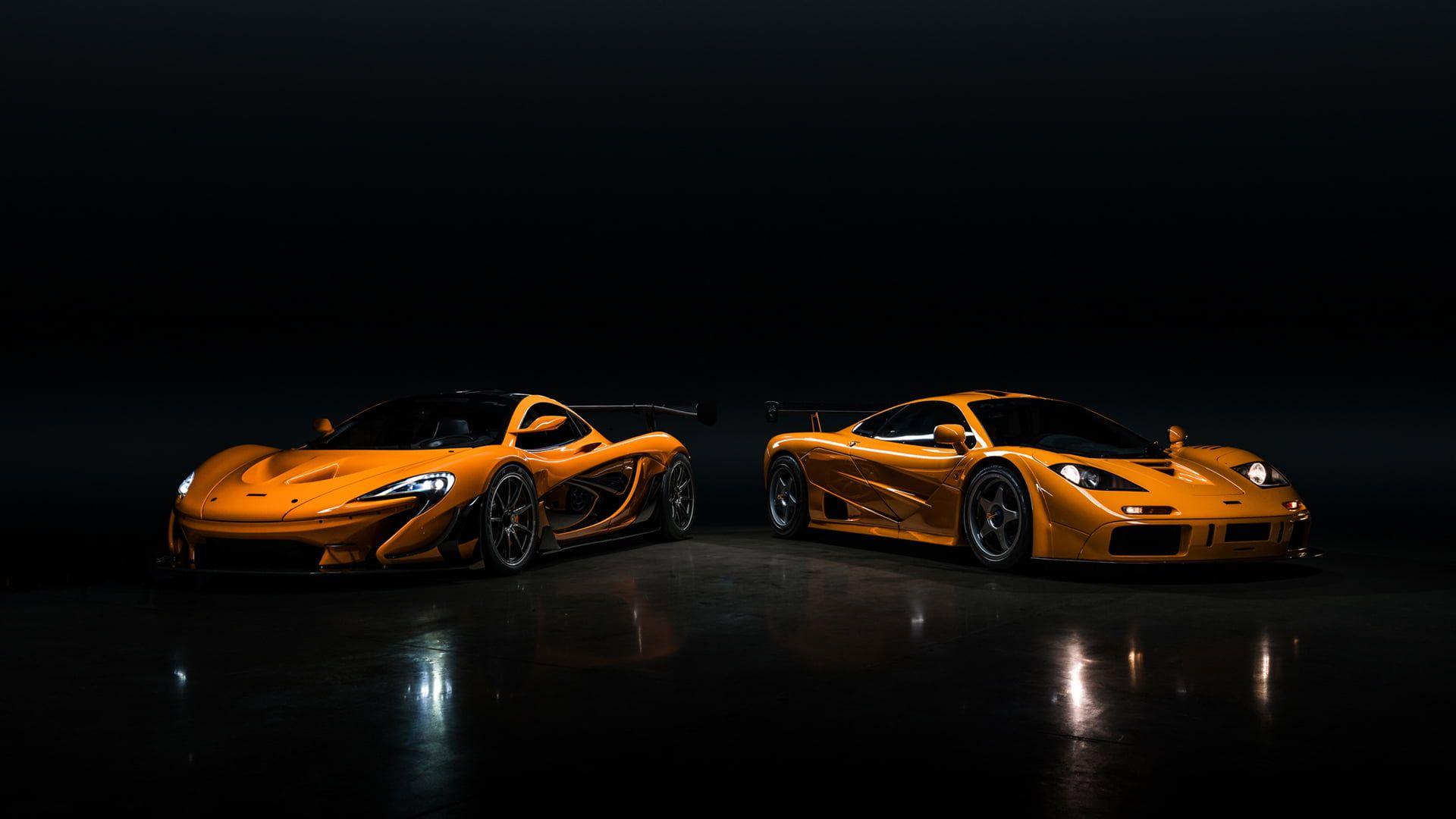 Mclaren Mclaren P1 Lm Mclaren F1 Lm Orange Cars Supercars Headlights 1080p Wallpaper Hdwallpaper Desktop Mclaren F1 Lm Mclaren F1 P1 Lm