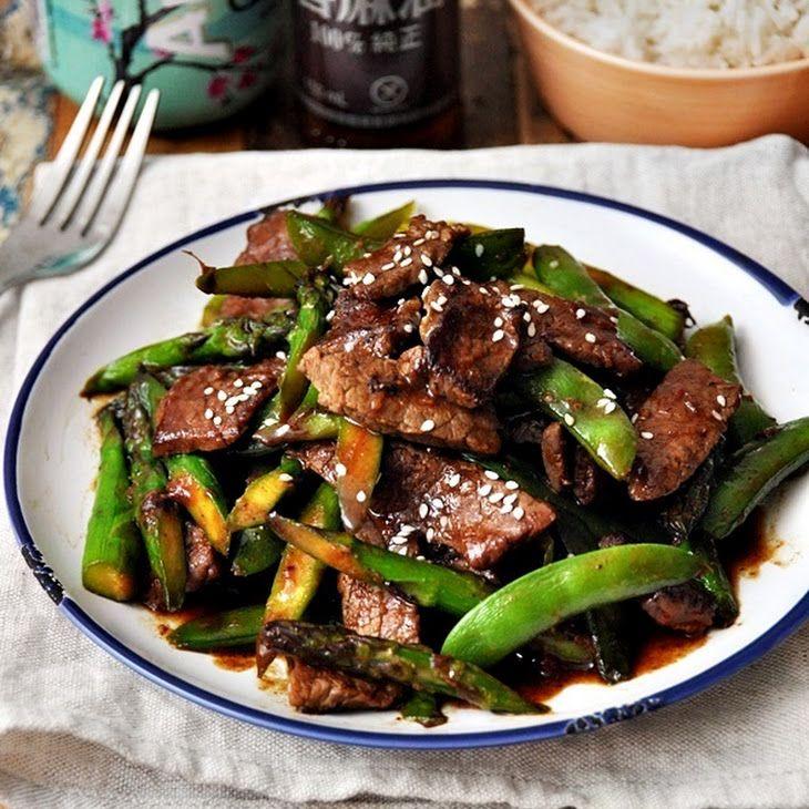 Stir Fried Beef With Five Spice Hoisin Sauce Vegetables