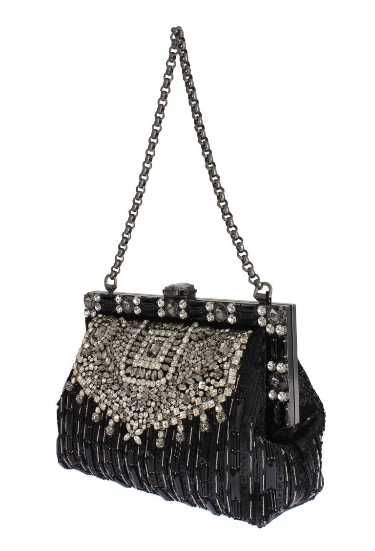 6581d0283f40 Dolce   Gabbana Crystal Embellished VANDA Bag in 2018 ...