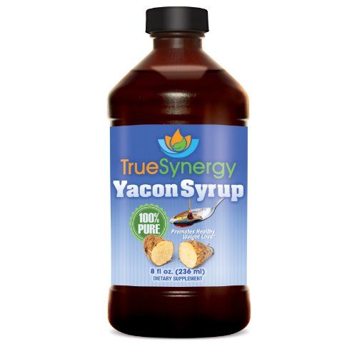 100% Pure Yacon Syrup - Metabolism Booster - All Natural Weight Loss Yacon Syrup - Raw Yacon Syrup, 8 oz