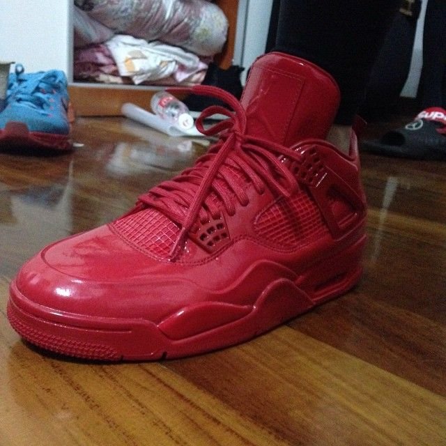 timeless design 673ac c44f5 What the 'Red' Air Jordan 11Lab4 Looks Like On-Foot ...
