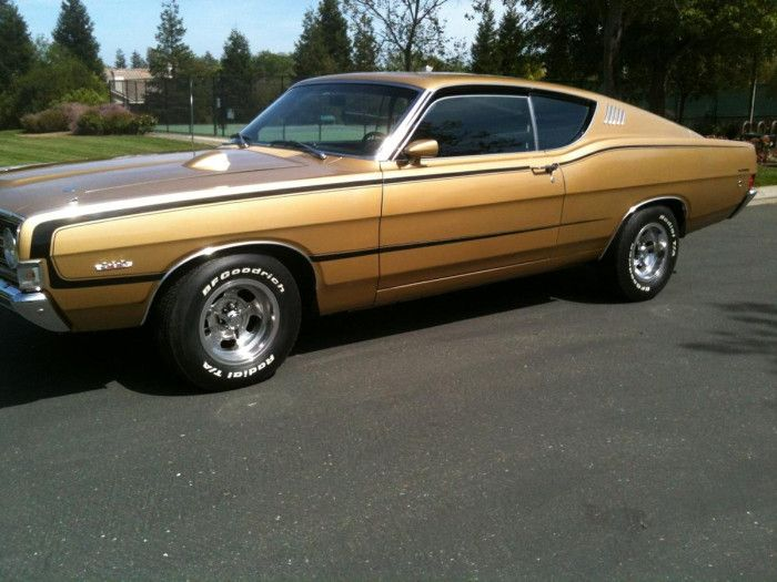 1968 Ford Torino Gt Fastback Ford Classic Cars Ford Torino