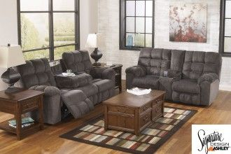 Acieona Slate Double Motion Sofa/Loveseat | Surplus Furniture And Mattress Warehouse  Store In Fredericton