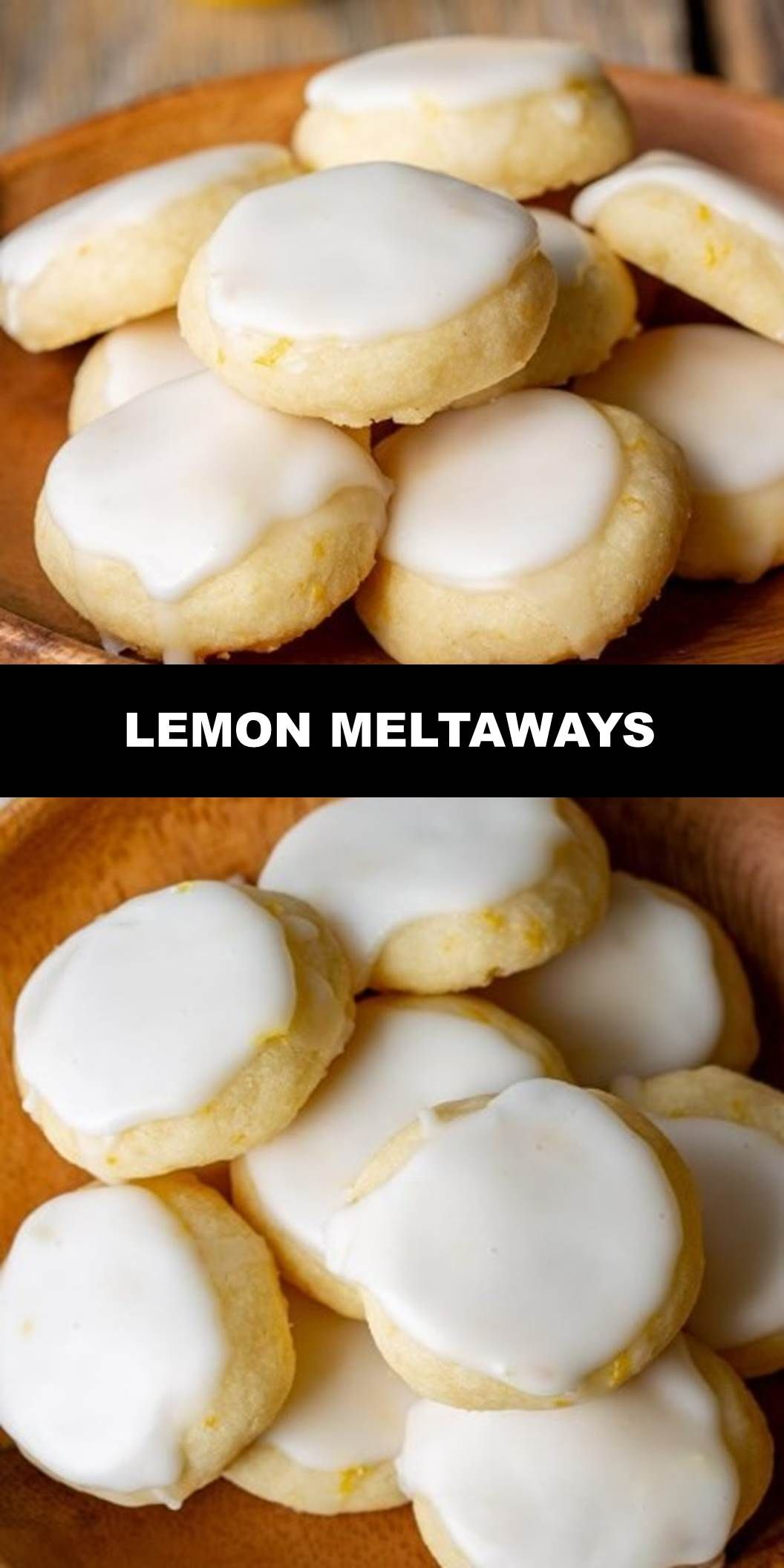 The World's Most Delicious Lemon Meltaways Prep Time 20 mins Cook Time 13 mins Total Time 33 mins