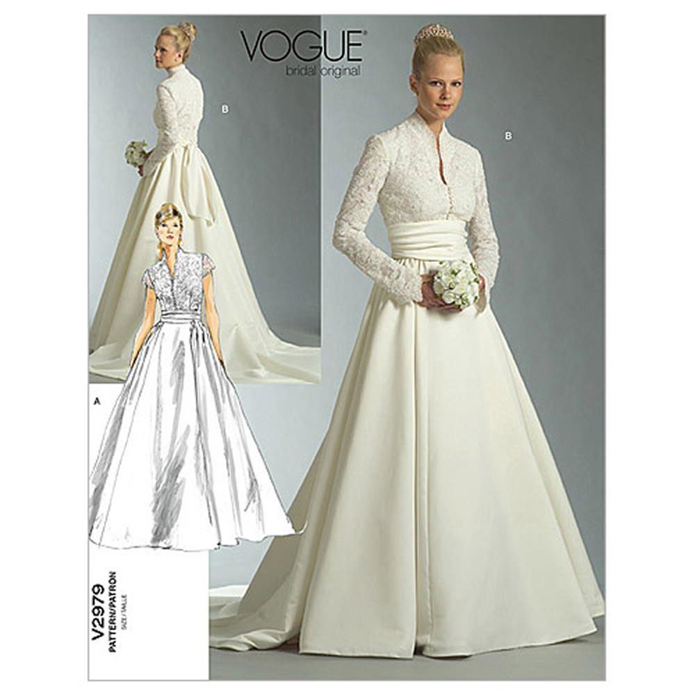 Vogue missesmisses petite dress and sash pattern v2979 size 0a0 ombrellifo Gallery