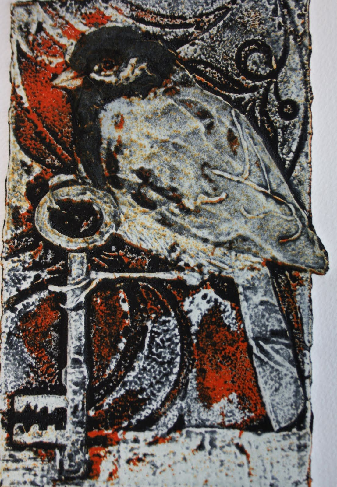 Sue Brown Printmaker April 2010 In Galley