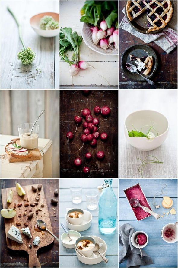 обратим фото еды с композицией по цветовому признаку обучение