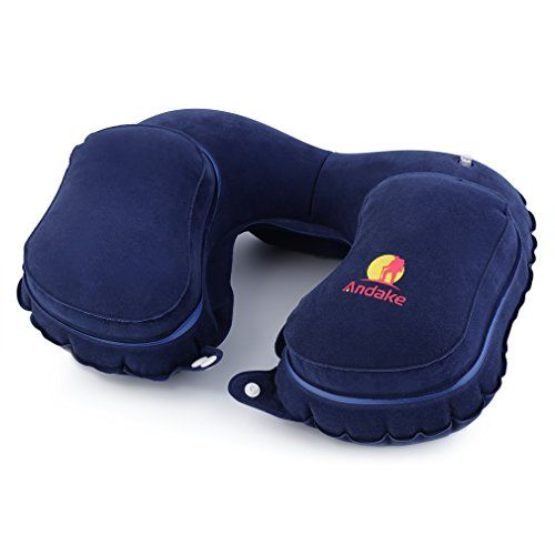 separation shoes official store 100% authentic Andake Travel Pillow Neck Inflatable Pillow Best for Your ...