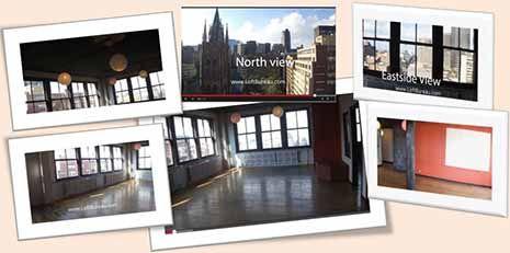 Espace bureau style loft centre ville près du quartier des spectacles. Loft style office space downtown Montreal