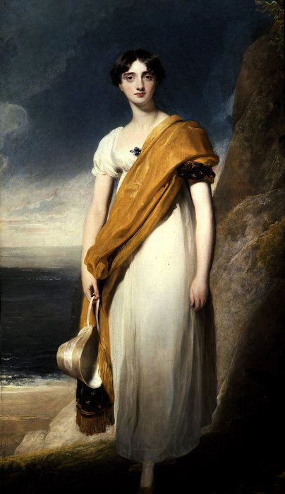 Thomas Lawrence, Portrait of Lady Maria Anne Oglander 1820