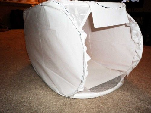 Building a photography light box with a pop-up h&er & Building a photography light box with a pop-up hamper | Make - DIY ...