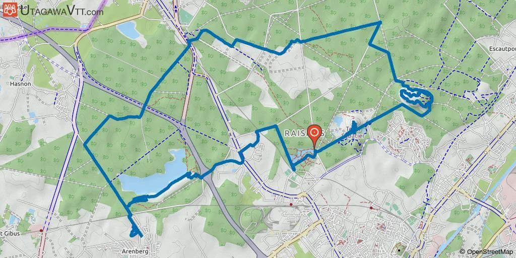 Nord Rando Vtt Boucle Au Depart De Raismes Raismes Rando Vtt Paris Roubaix