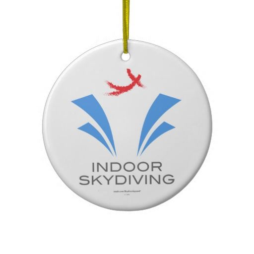 Indoor skydiving is a BLAST! If you're into body flight, or know someone  who is, this ornament is sure to create an