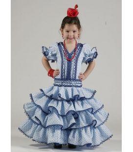 97e3a24388 Trajes de gitana niñas Olalla de la nueva temporada. Trajes Flamenca niña  Salinas