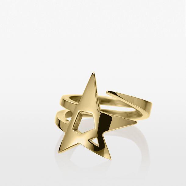 Feeling stellar? Celeste Etoile Ring in 18k gold ...