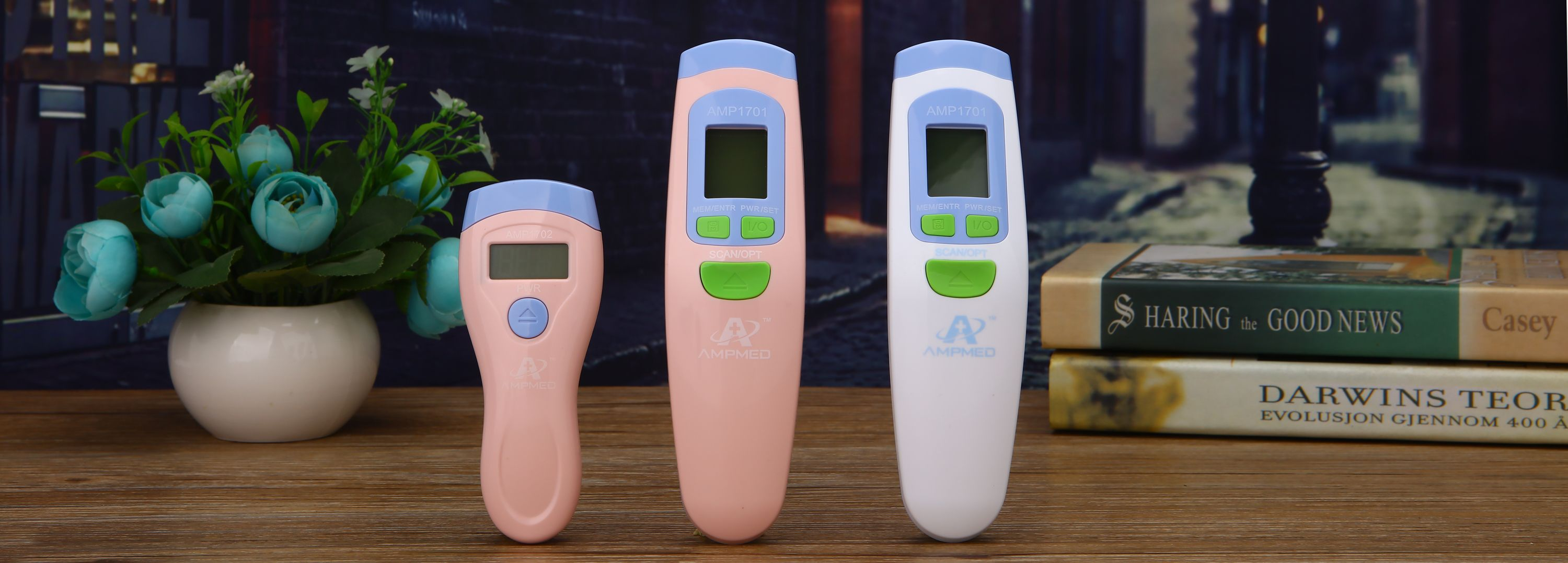 Case Babies Adults Hospital Grade Non Contact Infrared Forehead Thermometer