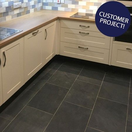 country farmhouse 60x40 black slate tiles in 2020 stone flooring tiles country farmhouse on farmhouse kitchen tile floor id=32054