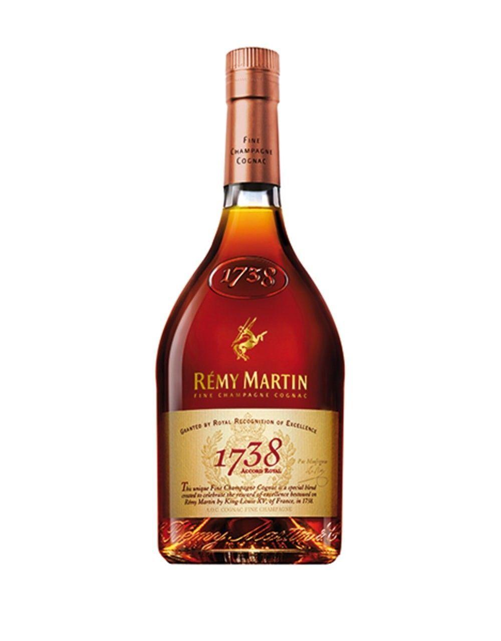 Remy Martin 1738 Accord Royal Remy Martin Bottle Champagne Gift Set