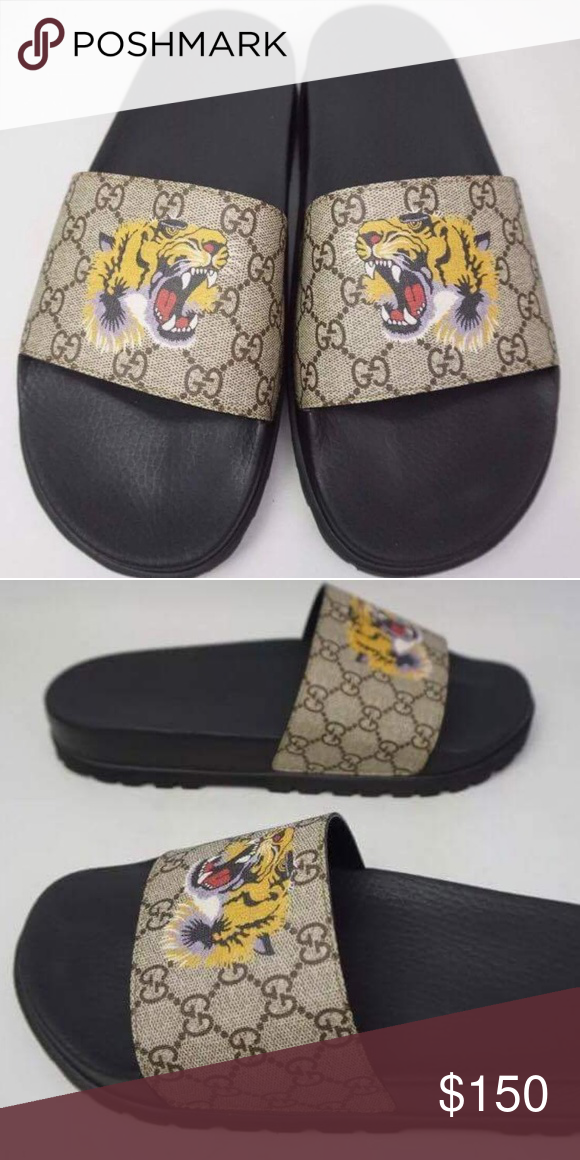 2017 Gucci Tiger slides Brand new original boxing included