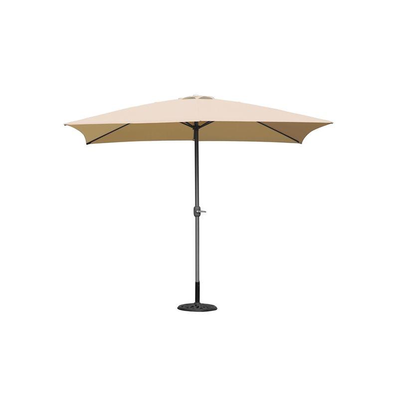 Elegant Coolaroo 2 X 3m Aluminium Rectangle Market Umbrella Outdoors