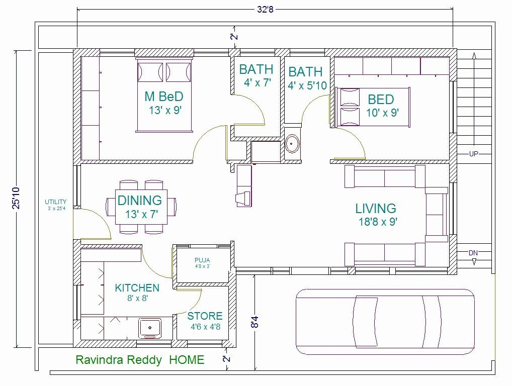 30 X 40 House Plans Inspirational 30 40 North Facing Site Ravi Vastu Plan North Facing House 30x40 House Plans Free House Plans