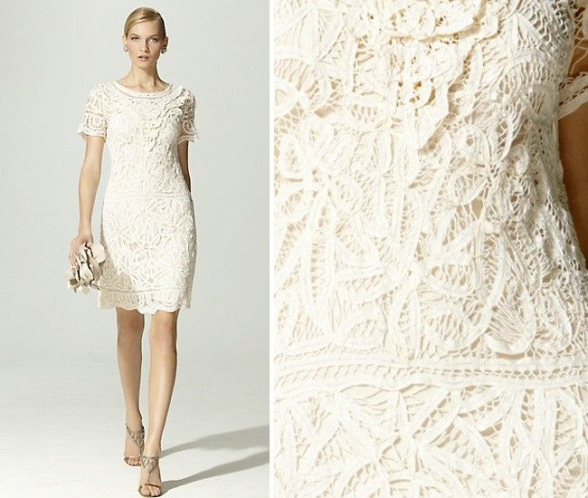 Vestido de noiva renda soutache
