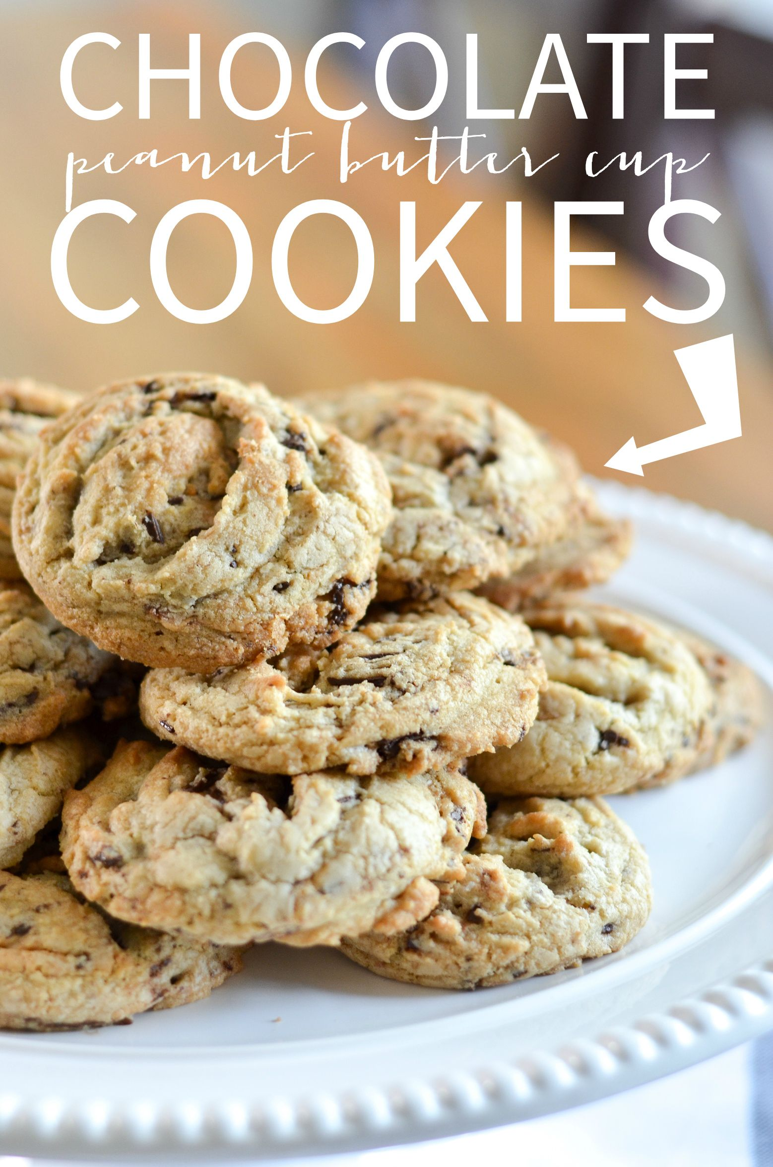 Chocolate Peanut Butter Cup Cookies Recipe Recipes The